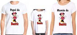 Kit 3 Camisetas Personalizadas