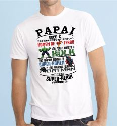 Camiseta Papai Herói