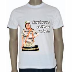 Camiseta Ninguém tem paciência...