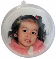 Bolas de Natal Personalizada 7cm