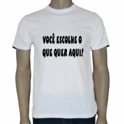 Camiseta Personalizada Adulto (Tam EG)