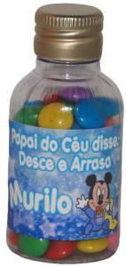 Mini Garrafinha de 7cm com confete