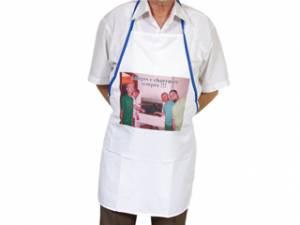 Avental Branco Personalizado