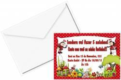 Convite Personalizado 10x15